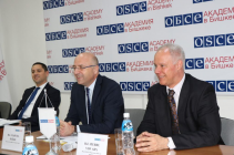 OSCE High-Level Representatives' visit to the Academy
