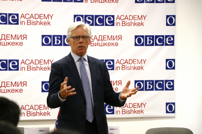 Former Minister of Foreign Affairs of Norway visits the OSCE Academy