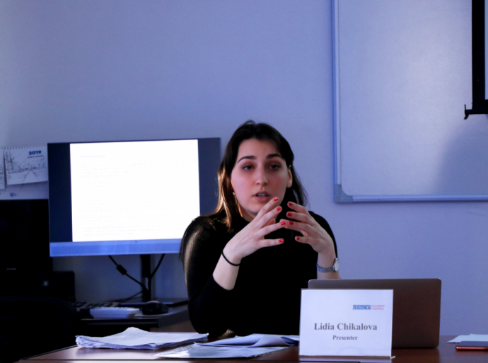 Associate Research Fellow delivered a Public Lecture on Geopolitics in Times of Information Confrontation