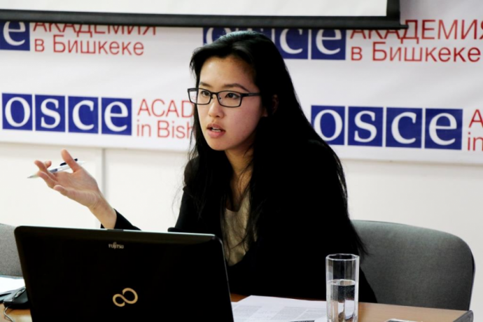 OSCE Academy Researcher receives Albie Award 2020