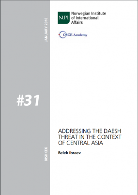 The OSCE Academy has published new Policy Brief