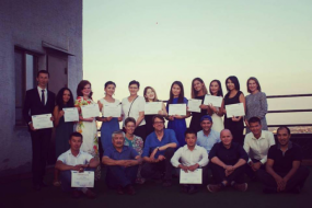 "The OSCE Academy in Bishkek and Deutsche Welle Akademie awarded certificates to participants of the ""Central Asian summer school of contemporary journalism"""