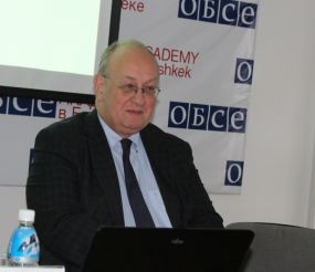 "Module ""The OSCE"" for Students of the MA in Politics and Security Programme"
