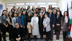 Alumni and Experts Meet to Discuss the Gender Issues in Central Asia
