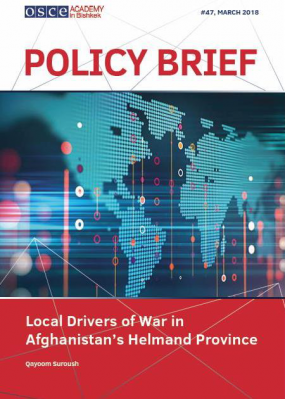 "Policy Brief №47 ""Local Drivers of War in Afghanistan's Helmand Province"""