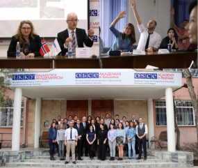 Norwegian Diplomats Visit the OSCE Academy