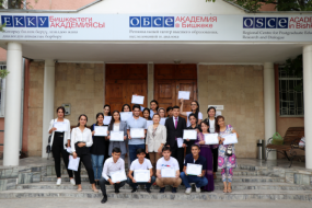 Youth of Tajikistan learns about Gender Equality