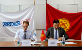 OSCE Academy prolongs its Partnership with the Investment Promotion and Protection Agency of the Kyrgyz Republic