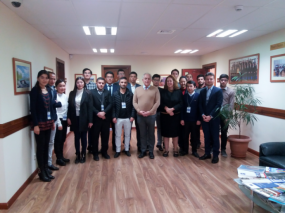 MA Students visited the EU Delegation to Kyrgyzstan