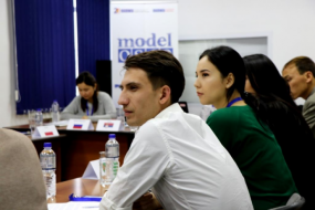 Central Asian Youth tries to resolve Crisis during the Model OSCE