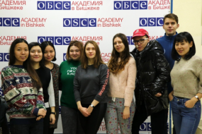 Visit of MA Students from Kazakh-German University for a Short Research Stay