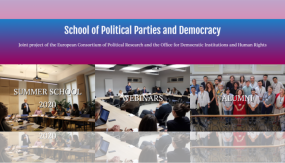 Third ECPR-OSCE/ODIHR Summer School on Political Parties and Democracy