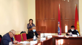 OSCE Academy Deputy Director Defends Her PhD Thesis